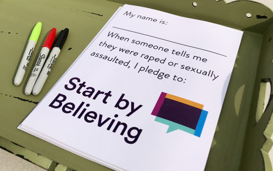Start By Believing Campaign