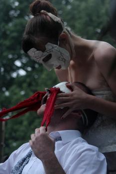 Oedipus Rex, mask design, NoExit Performance, 2012