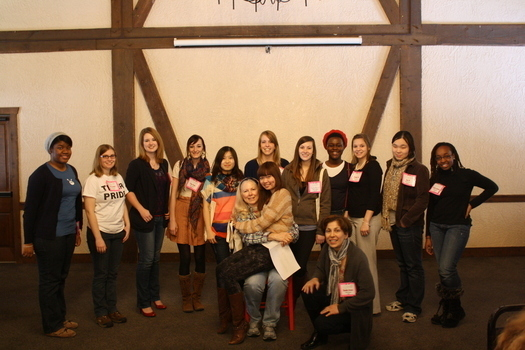 DePauw's Group picture at INWiC