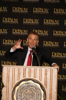 Former British Prime Minister Tony Blair in March 2008.