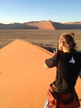 Rob Weidner interned with Big Sky Productions in South Africa