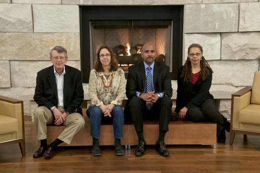 2011 Symposium Speakers (from left to right) Robert Bottoms, Alison Bailey, Rafik Mohamed and June Cross