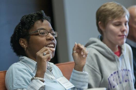 The undergraduate ethics symposium at the Prindle Institute.