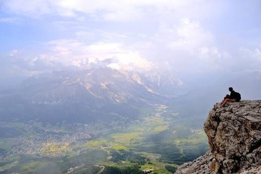 Italian vistas on a clear day