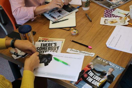 Exploring brand development through visual brainstorming