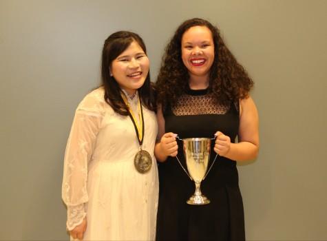 2017 Murad Medal Recipient Midori Kawaue and 2017 Walker Cup Recipient Sarah Fears