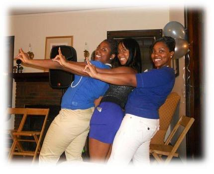 2011 Initiates of the Lambda Tau Chapter of Zeta Phi Beta