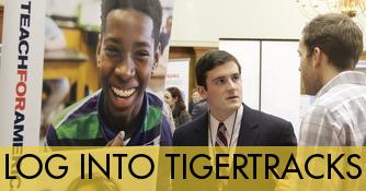 Log into TigerTracks