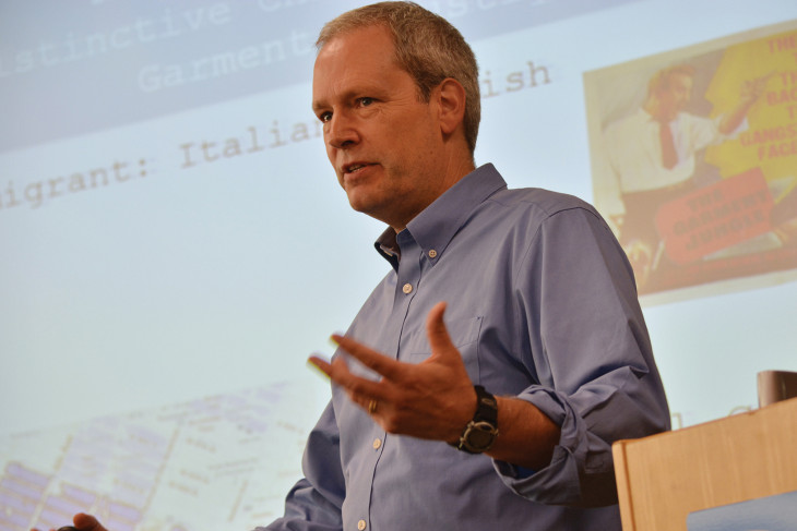 David Witwer '85 lectures at Penn State Harrisburg