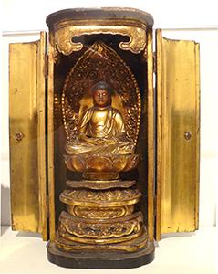 Butsudan (private Buddhist altarpiece) Japanese, c. 16th century
