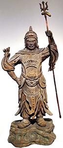 Zocho-ten, Guardian of the South Japanese, c. 1500 C.E.