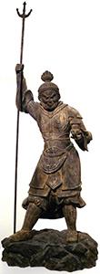 Bishamon-ten, Guardian King of the North Japanese, 1420-1500 C.E.