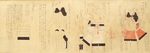 Handscroll: Treatise on Japanese Samurai Armor Japanese, 19th century ink on paper Gift of Arthur E. Klauser '45