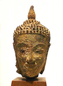 Head of Buddha Thailand, 14th century