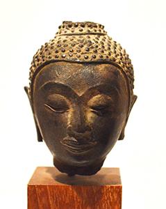 Head of Buddha Thailand, 19th century