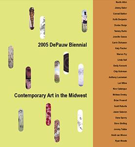 Cover art for 2005 DePauw Biennial