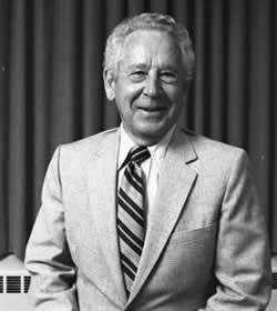 Howard Burkett from 1986 in black and white