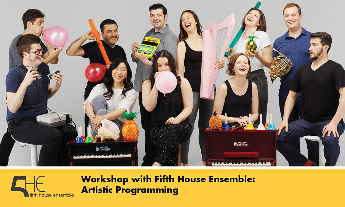 Workshop with Fifth House Ensemble promo shot