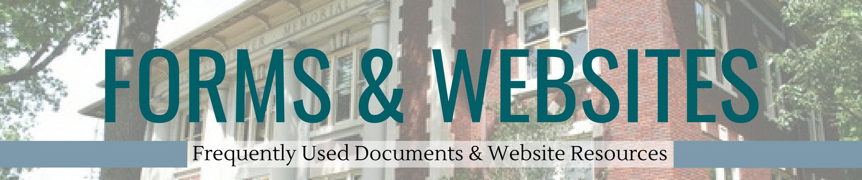 Forms & Websites