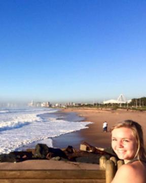 Annie in Durban, South Africa