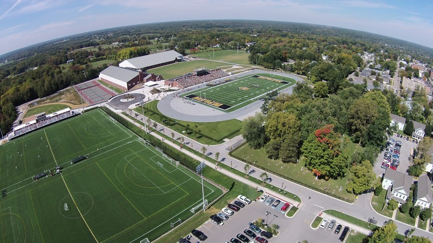 Athletic Campus Aerial
