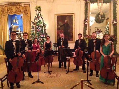 Cello Ensemble at White House