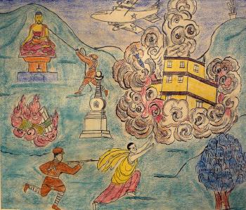 Escape of Dalai Lama