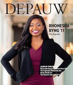 DePauw Magazine Summer 2017: Rhonesha Byng '11