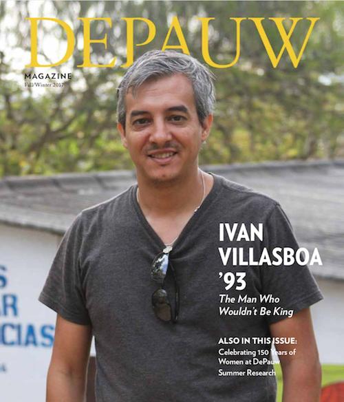 DePauw Magazine Winter 2017: Ivan Villasboa '93