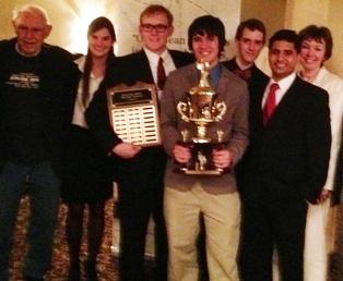 DePauw's 2013 National Champion Ethics Bowl team