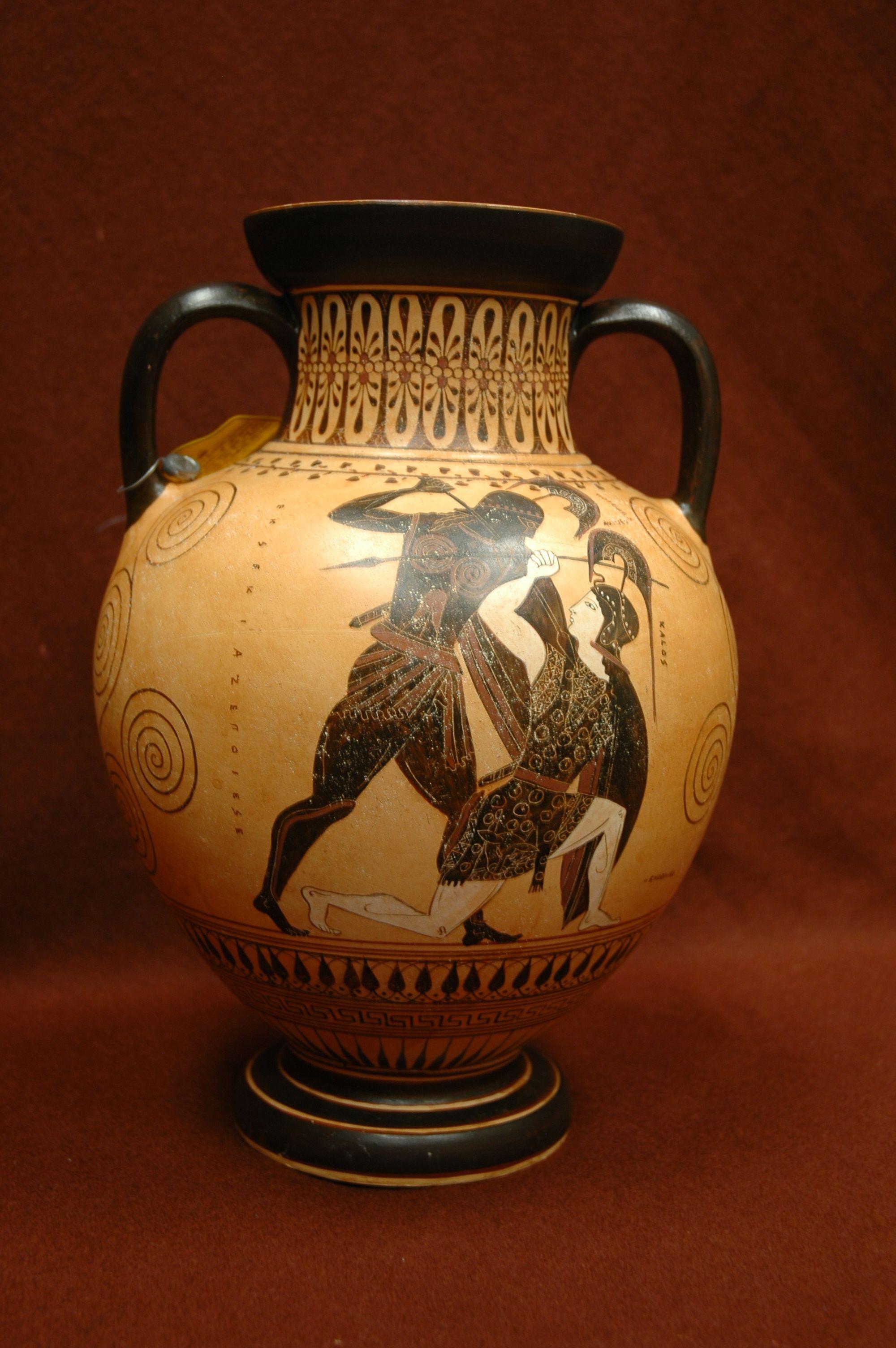Replica Greek Vase Collection Depauw University