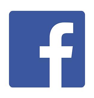 facebook logo and hyperlink to Hartman House facebook