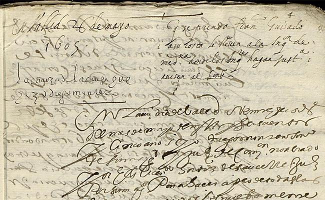 Inquisition manuscript page