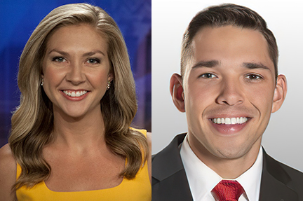 TV Journalism Panel - Suzanne Spencer '14 and Zach Crenshaw '14