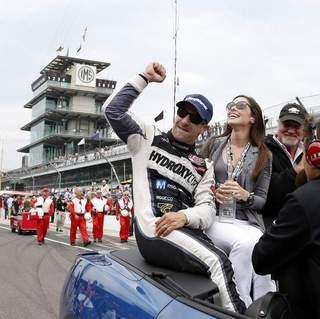 Lauren Bohlander Kanaan 04 Celebrates Indy 500 Victory By