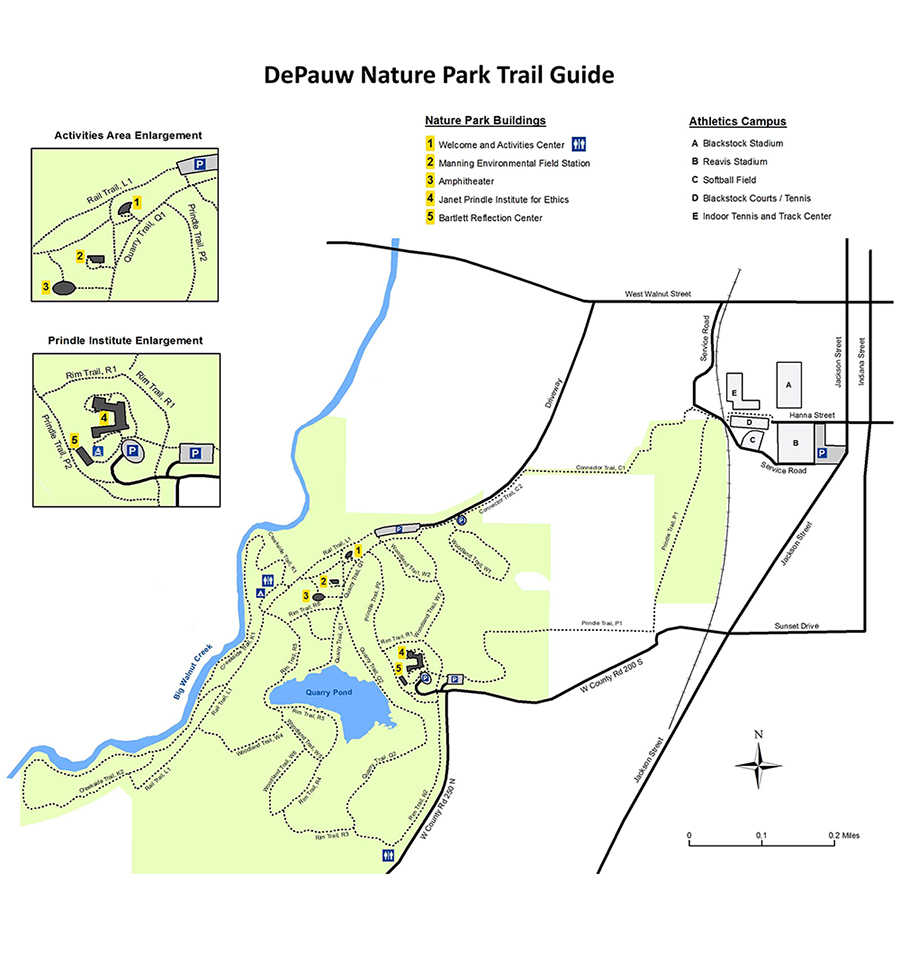 Nature park trail guide