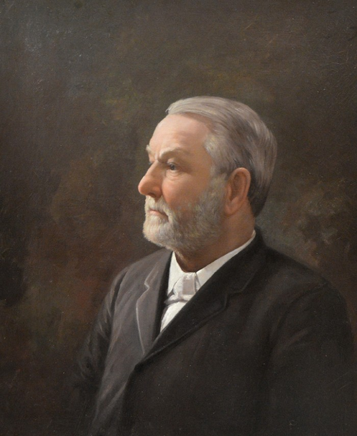 Portrait of Washington C. DePauw