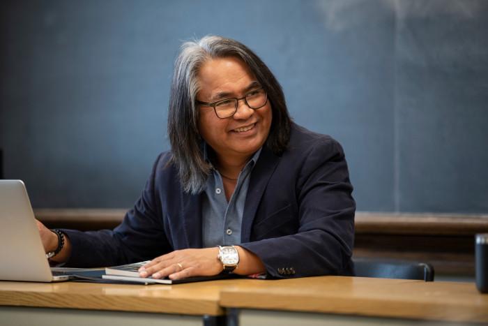 Eugene Gloria in class