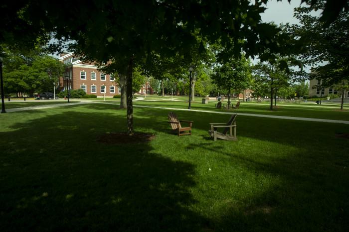 Campus beauty shot