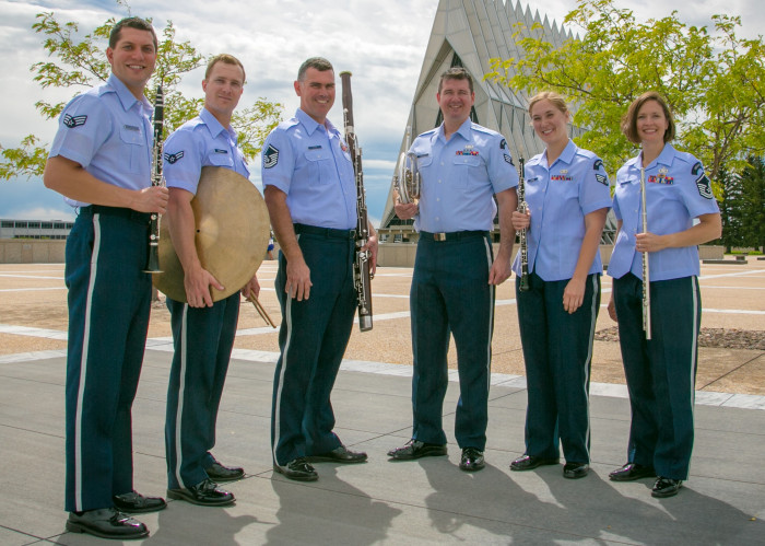 Air Force Academy Woods ensemble