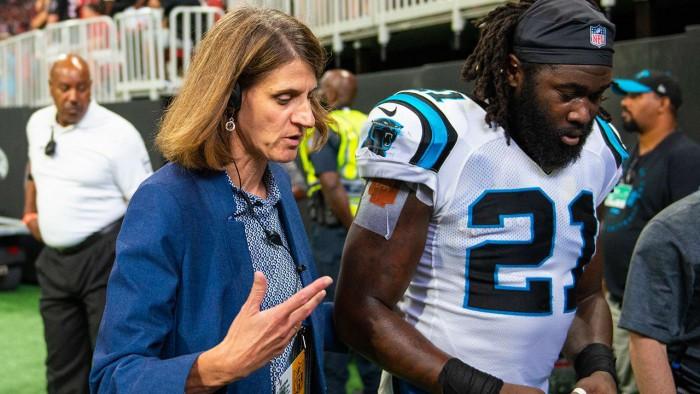 Nancy Gritter is an NFL internist