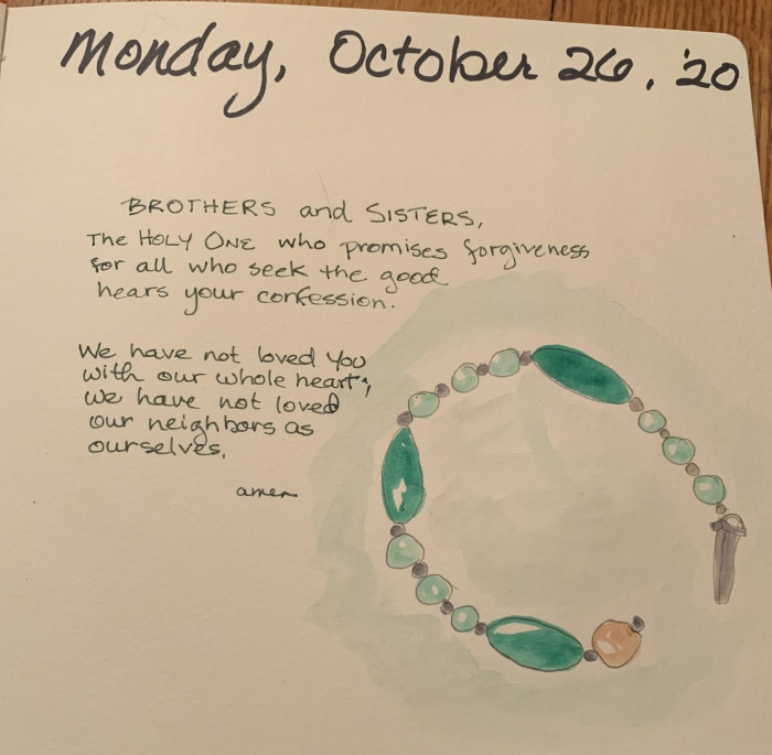Water Color Journal Daily Prayer
