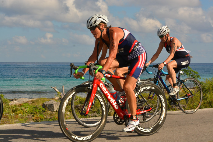 Sue Reynolds bikes in competition