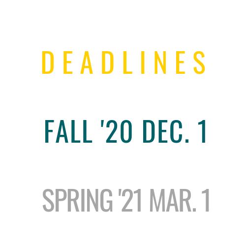 OCS Deadlines