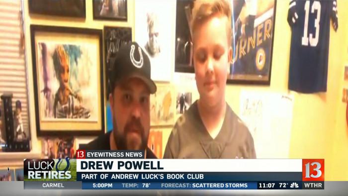 Drew Powell '98 Calls Andrew Luck