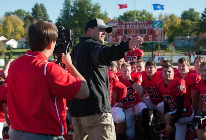 Matt Walker - head coach at UW-River Falls