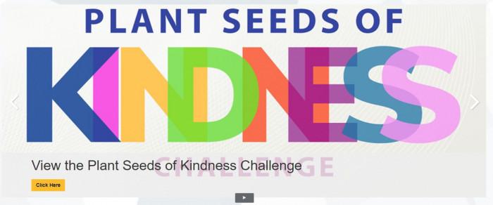 Plant seeds of kindness banner