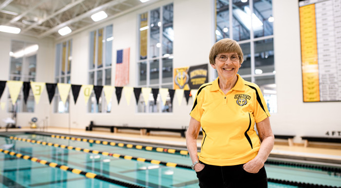 Mary Bretscher, former swim coach