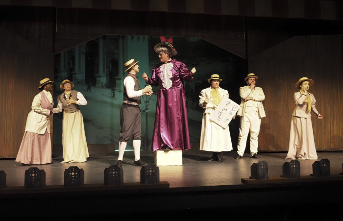Scene from a musical