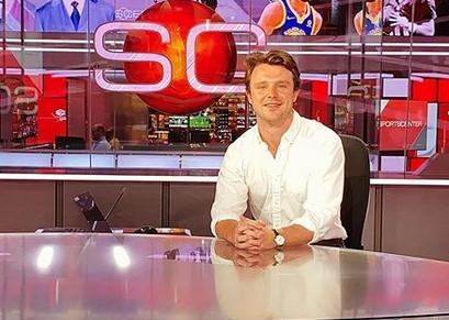 Sportscaster Nate Ryan '17 Joins El Paso's KVIA-TV - DePauw University